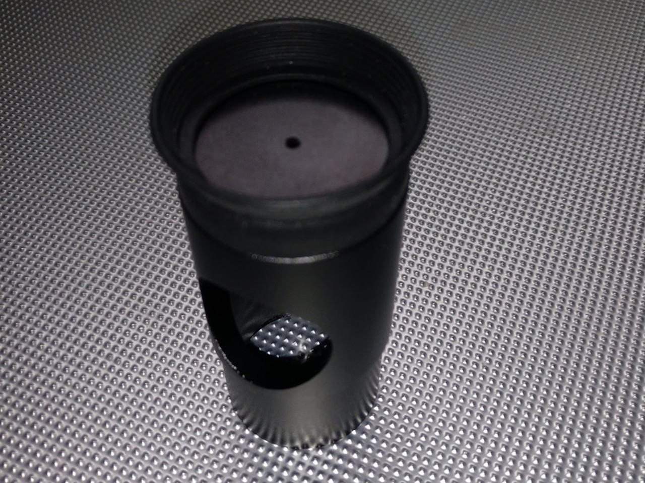 Cheshire colimation eyepiece