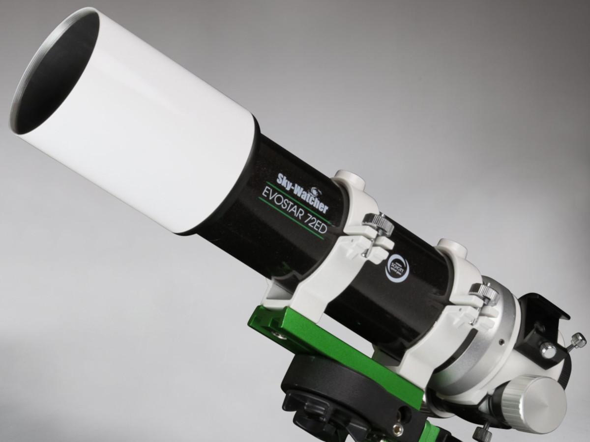 Foto del telescopio ED72